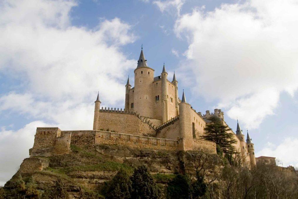 Alcazar kasteel in Segovia