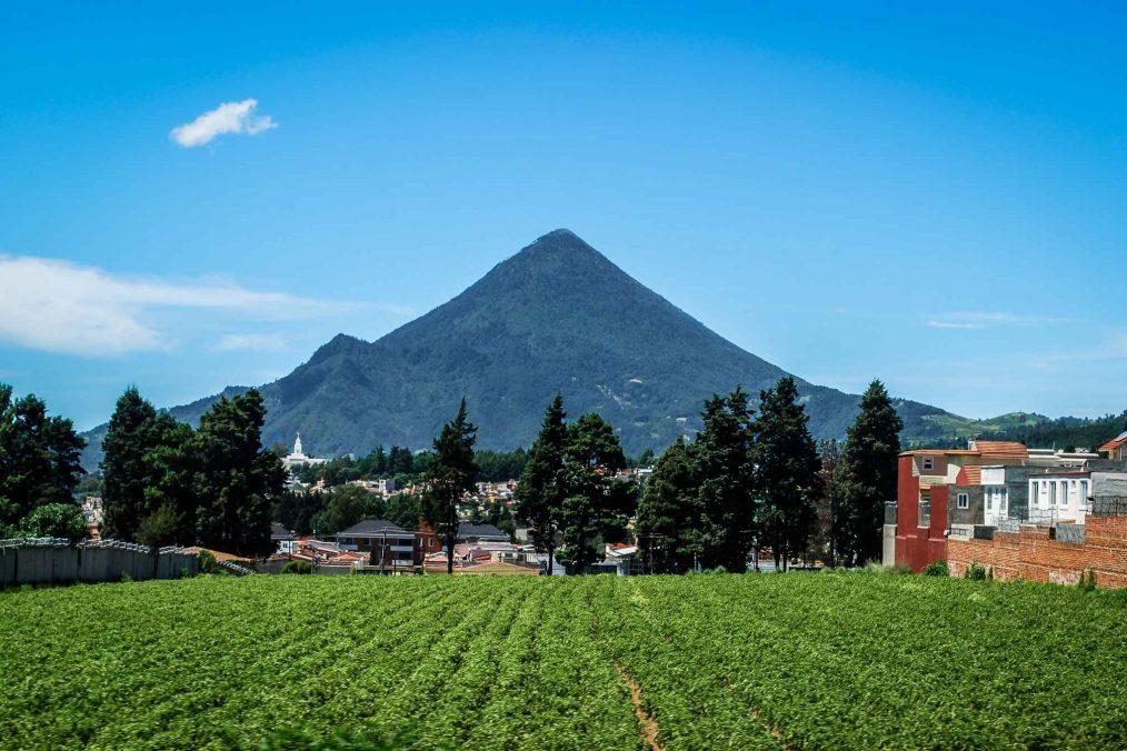 Berg bij Quetzaltenango