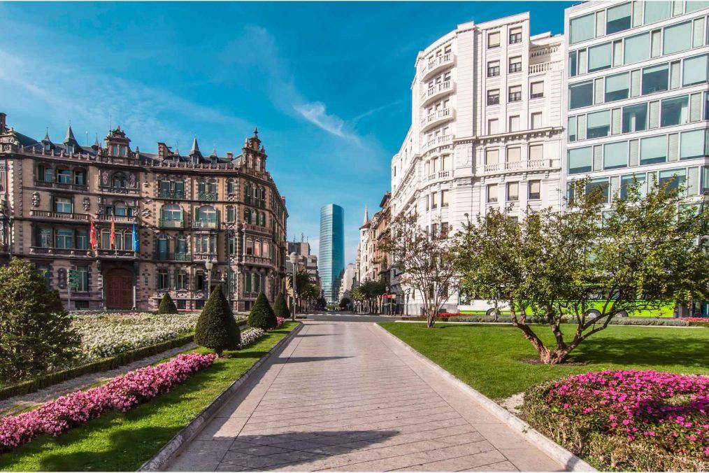 Bilbao in Spanje