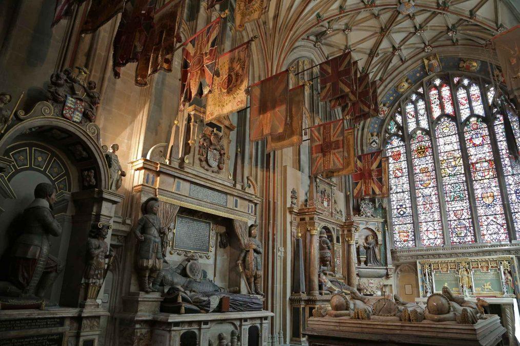 Binnenkant van de Canterbury Kathedraal