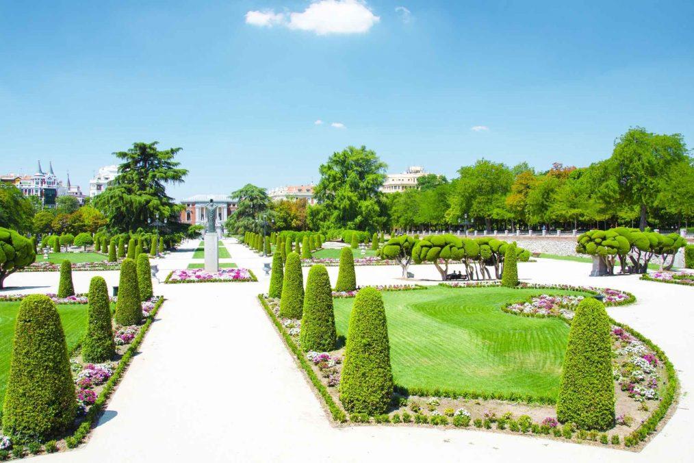 Buen Retiro Park in Madrid