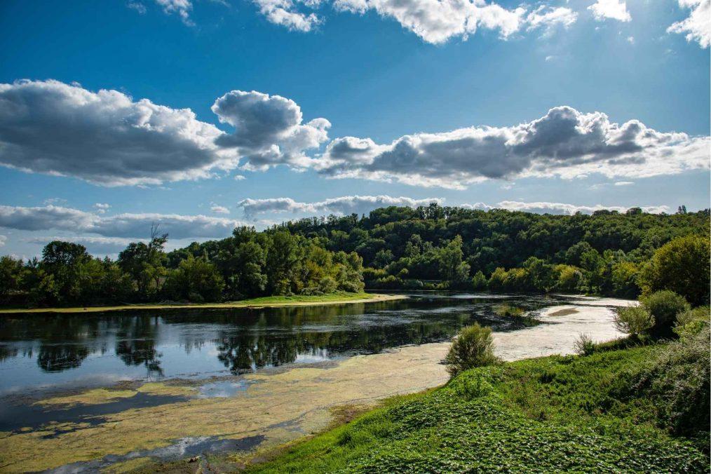 De rivieren en bossen van Dordogne