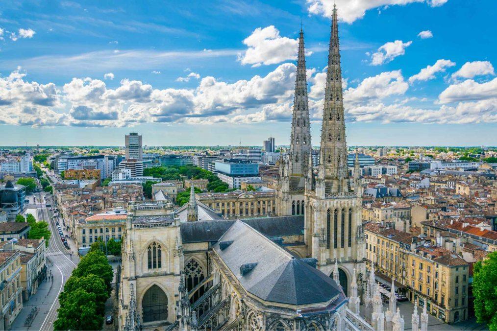 De stad Bordeaux
