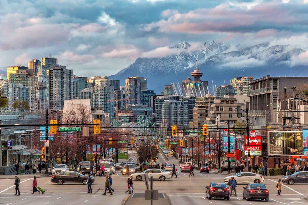 De straten van Vancouver