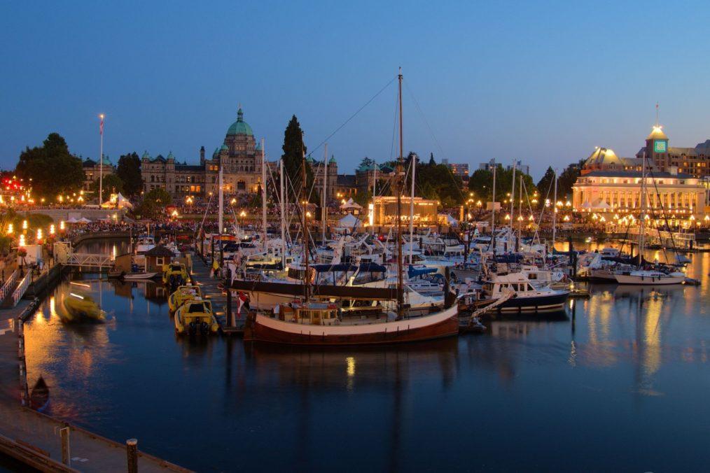 Haven van Victoria in Canada