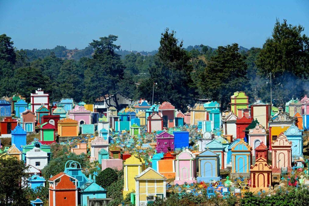 Het kleurrijke dorpje Chichicastenango