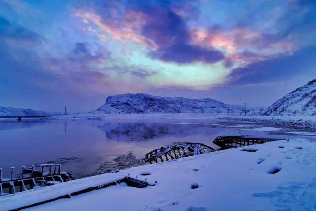 Indrukwekkende natuur bij Moermansk