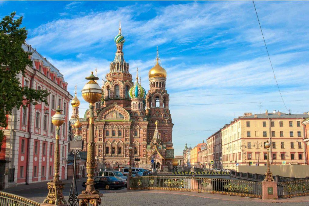 Kathedraal in St Petersburg