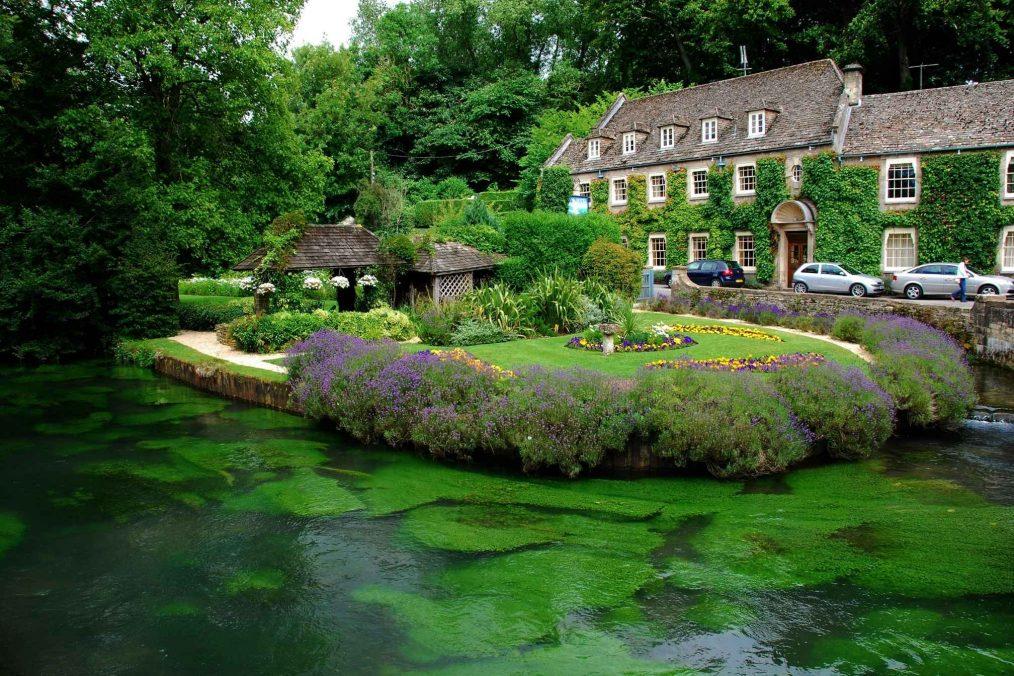 Landschap van de Cotswolds in Engeland