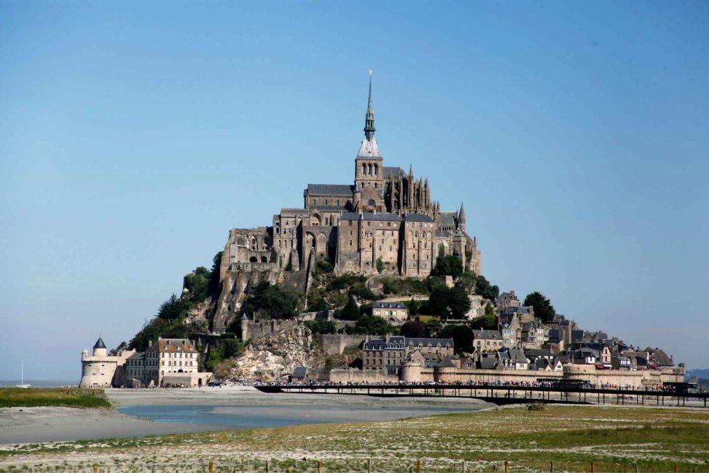Mont Saint-Michel in Normandië