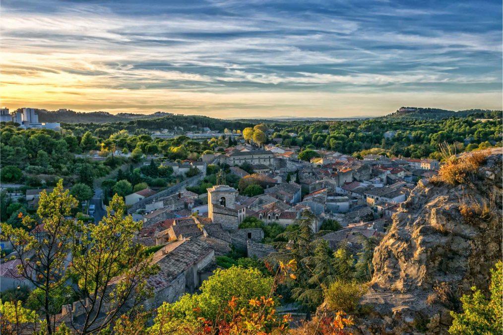 Oud Frans dorp in de Provence