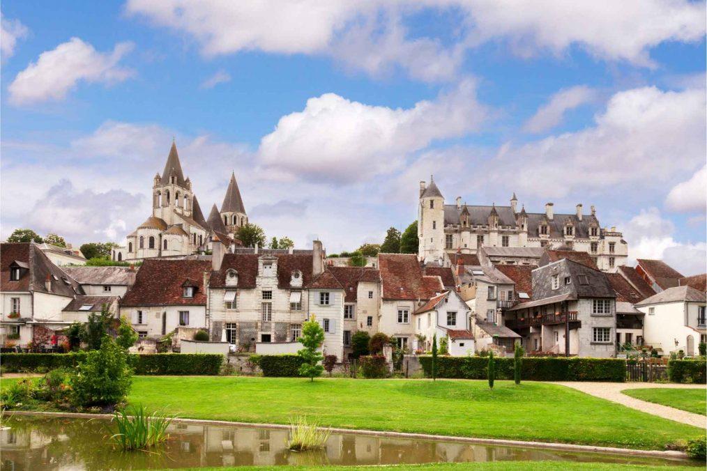 Prachtige architectuur in de Loire-vallei