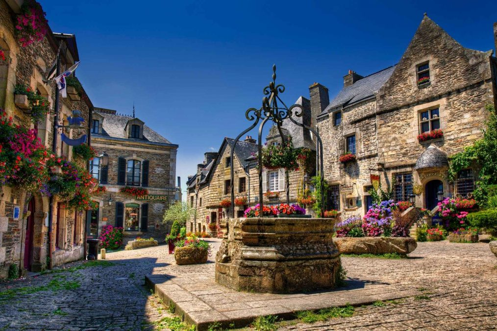 Rochefort-en-terre in Bretagne
