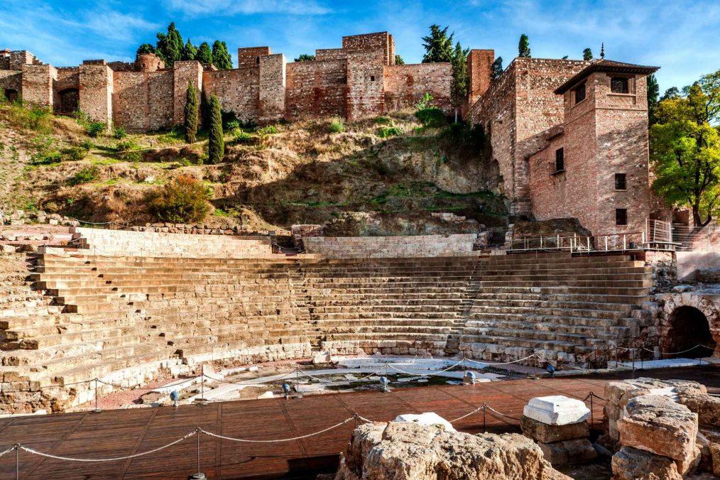 Romeinse theater in Malaga