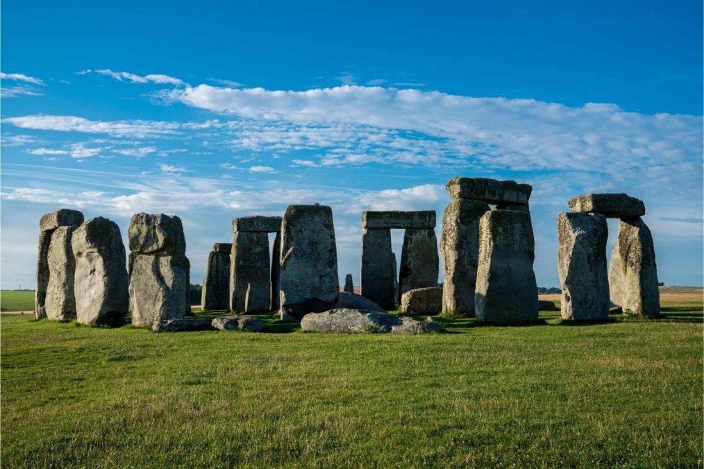 De ruïnes van Stonehenge in Engeland