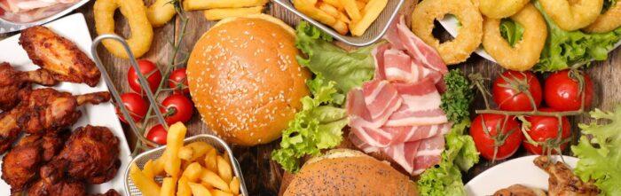 Amerikaans eten - Hamburgers en friet