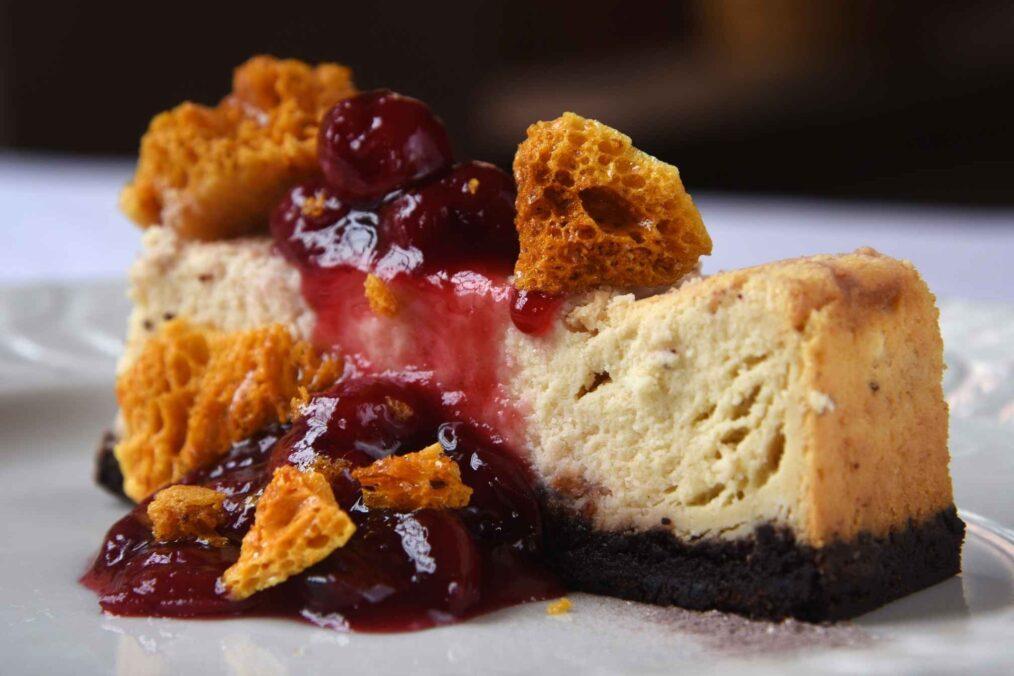 Amerikaanse cheesecake
