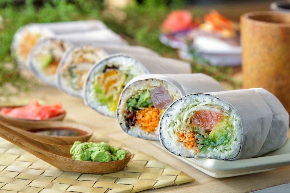 De Japanse Sushi Burrito