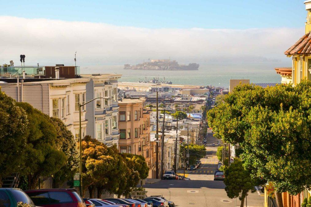 De straten van San Diego