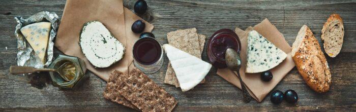 Frans eten - Stokbrood en lekkere kaas