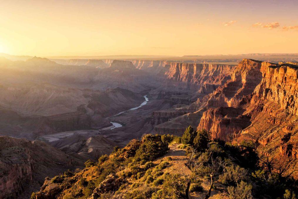 Grand Canyon in de VS