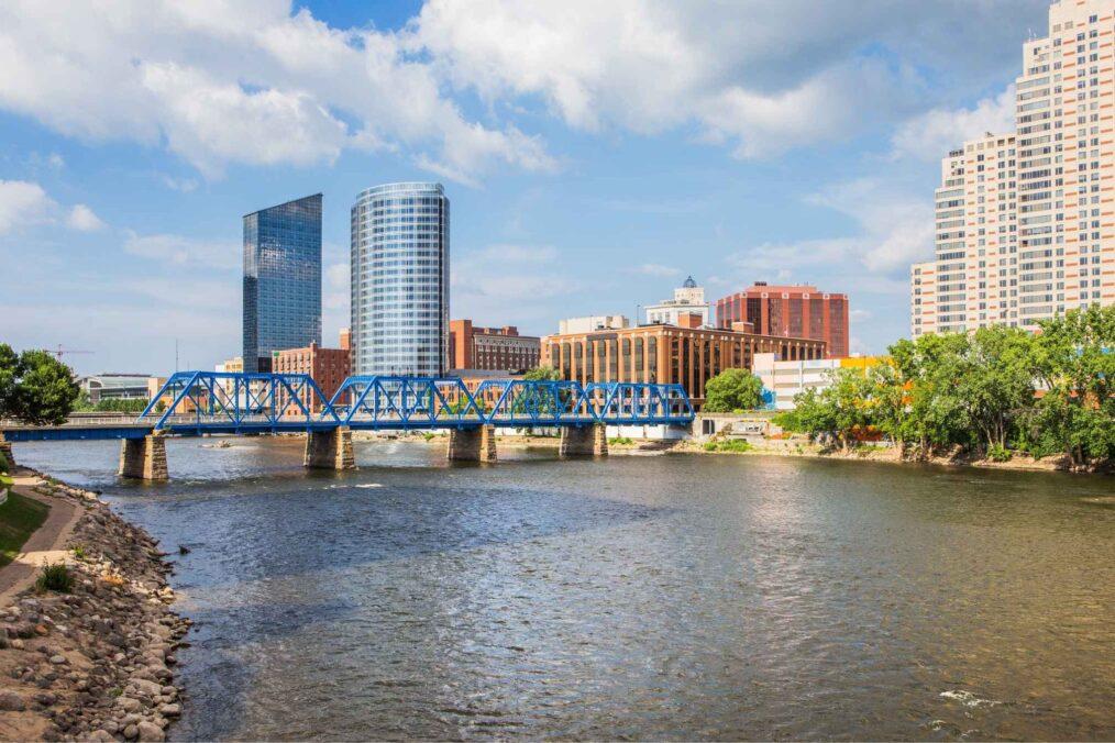Grand Rapids in Michigan