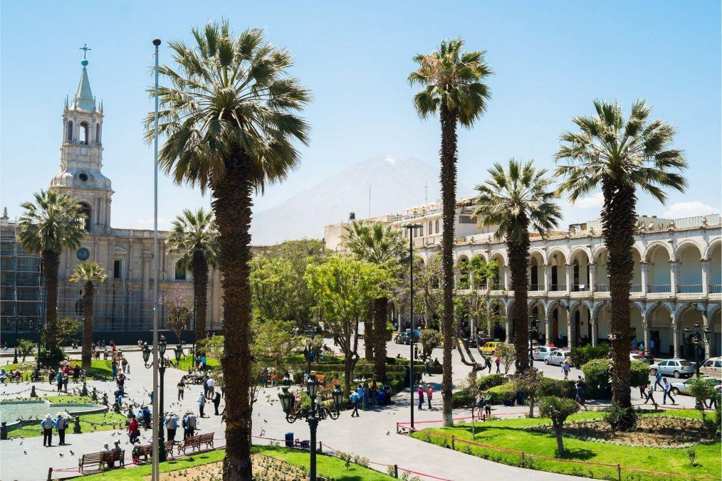 Stadscentrum van Arequipa