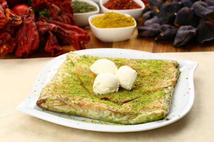 Turks eten - Katmer