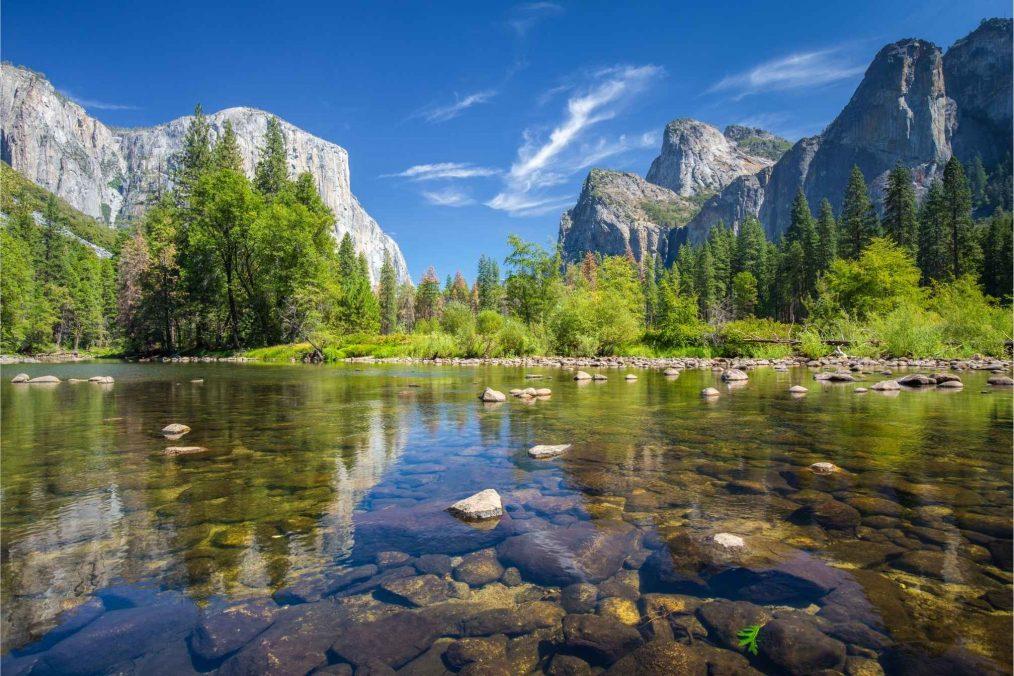 Yosemite National Park in Californië