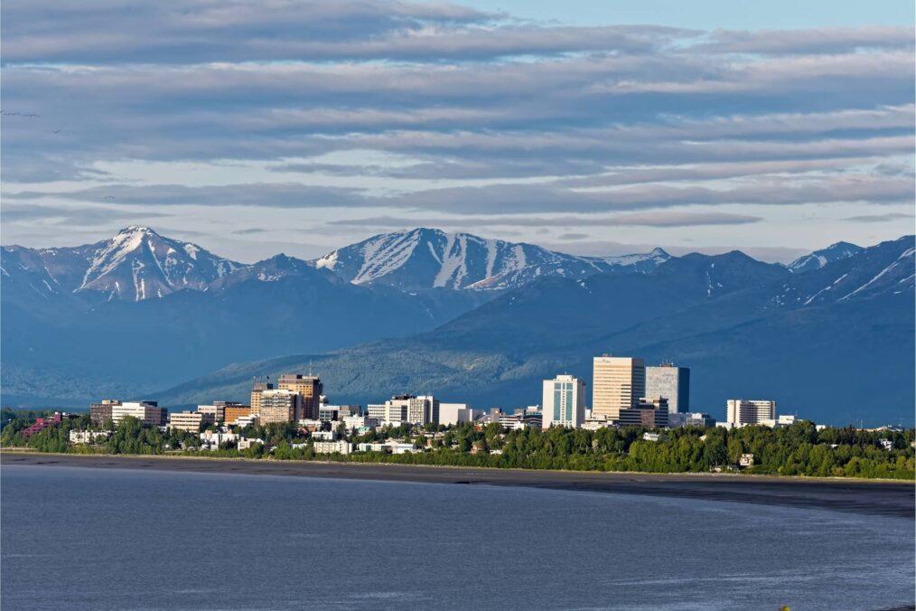 Anchorage in Alaska