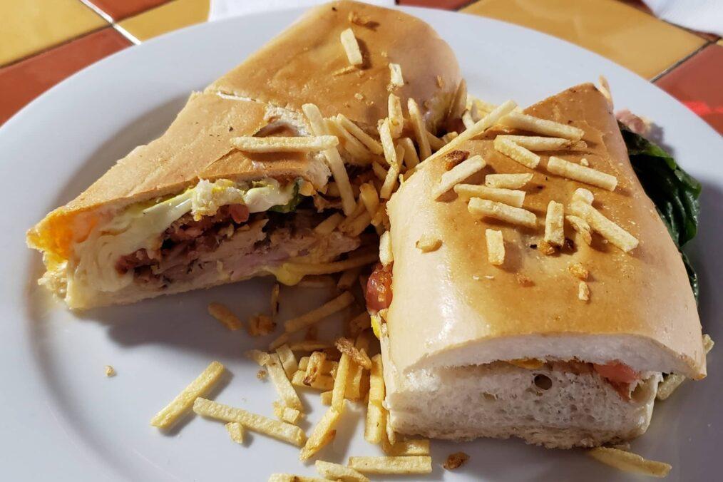 Cubaanse sandwich in Little Havana
