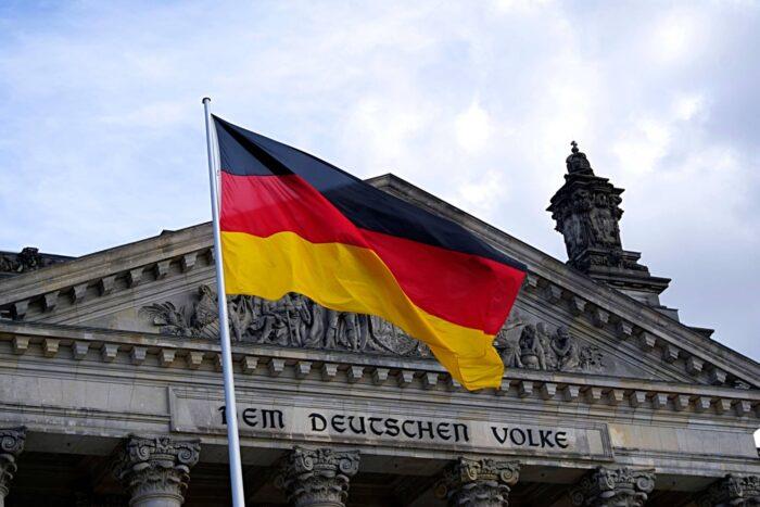 De Duitse vlag
