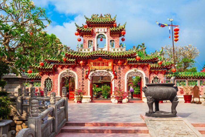 De Fujian Assembly Hall bij Hoi An