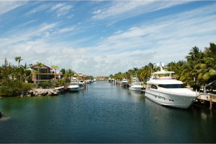 De kanalen van Key Largo