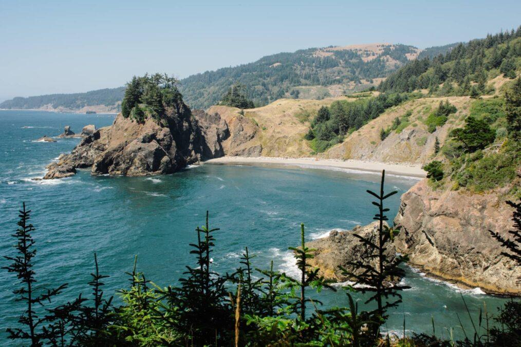 De zee bij Samuel H. Boardman State Scenic Corridor