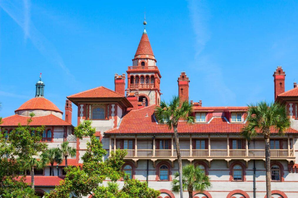 Flagler College bij St Augustine in Florida