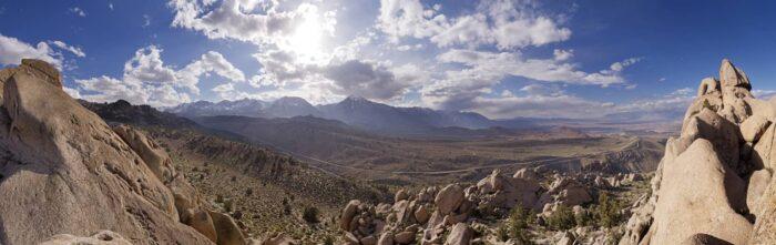 Het gebergte van Nevada - Staten van Amerika