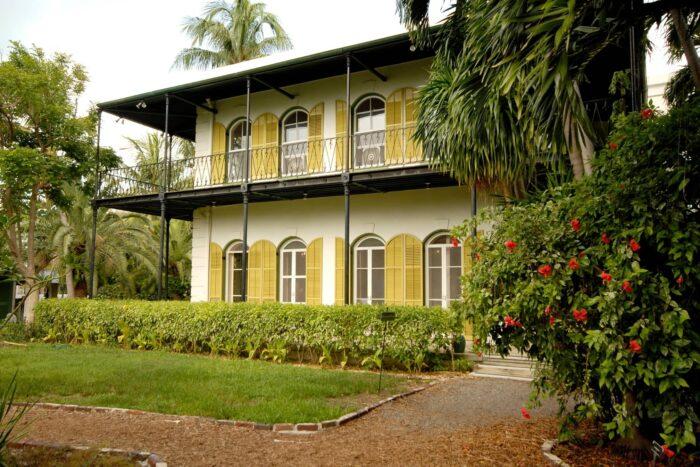 Het huis van Ernest Hemingway