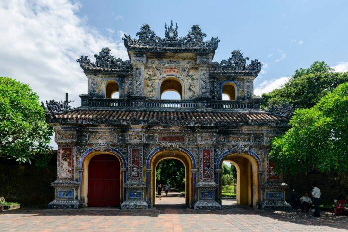 Hien Nhon poort in Hue