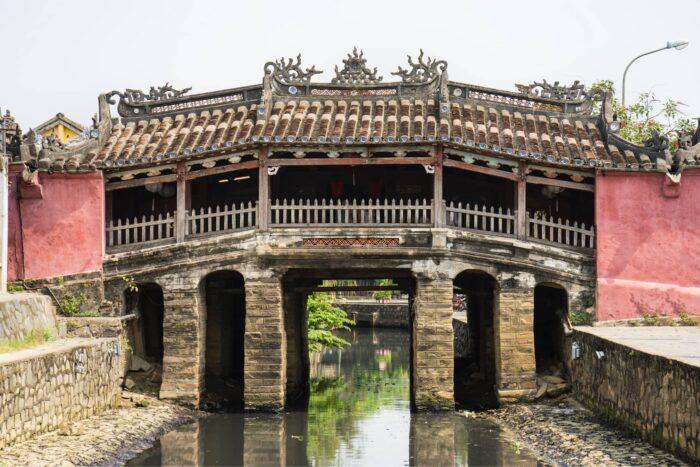 Japanse overdekte brug in Hoi An
