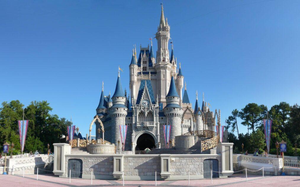 Magische Kasteel in Disneyworld in Orlando Florida