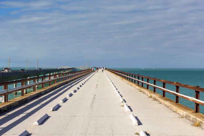 Seven Mile Bridge bij Marathon