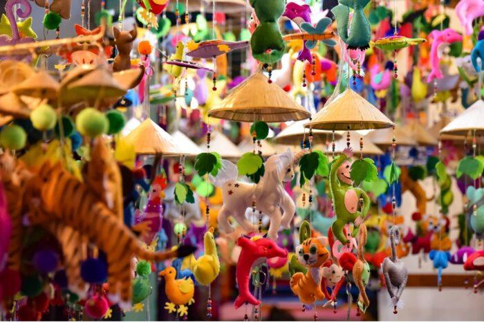 Spulletjes op de centrale markt van Hoi An