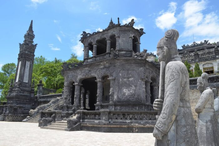 Tombe van Khai Dinh in Hue