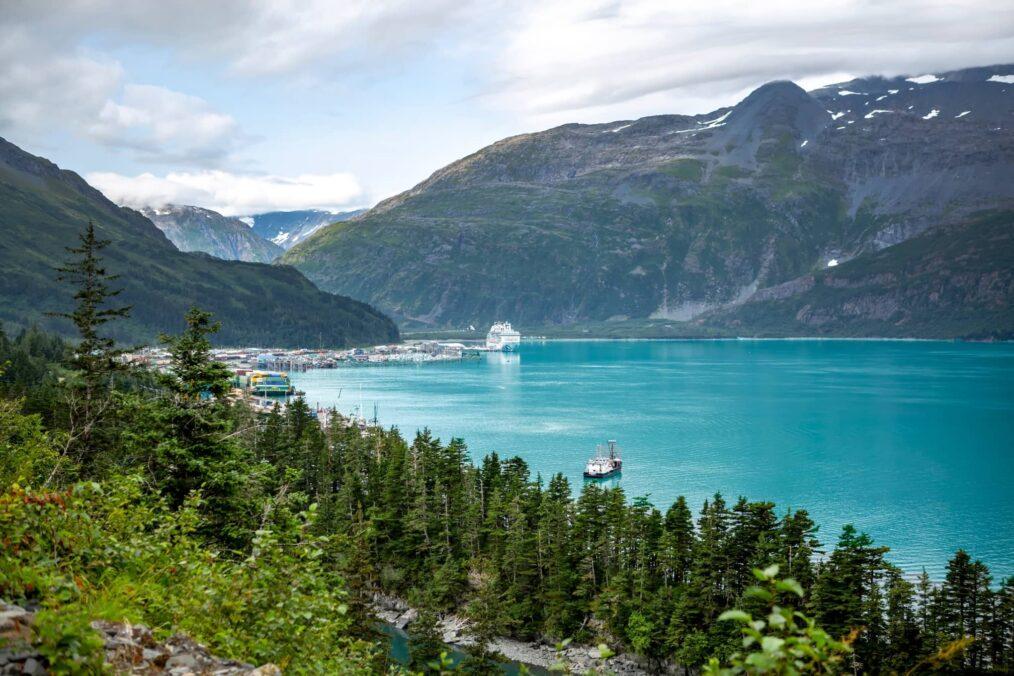 Whittier in Alaska