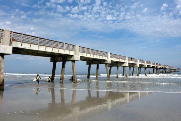 De pier van Jacksonville