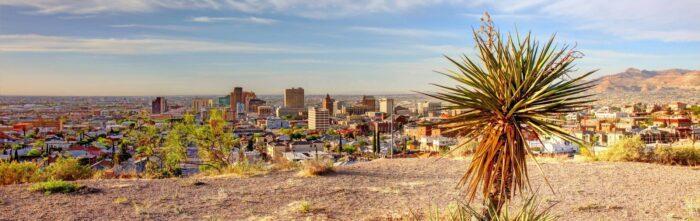 El Paso in Texas
