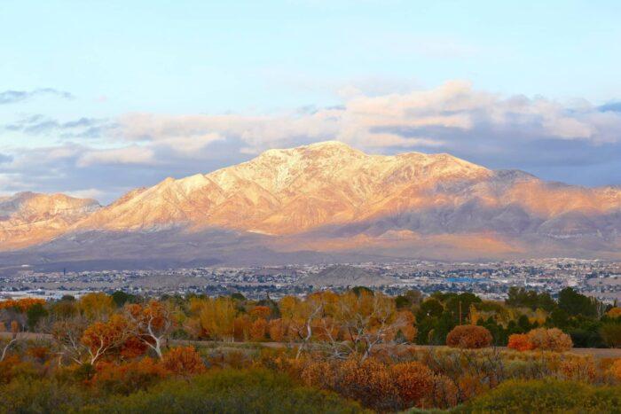 Franklin Mountains bij El Paso
