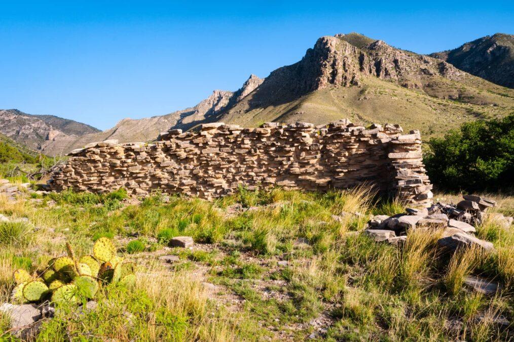 Het Nationale Park van Guadalupe Mountains