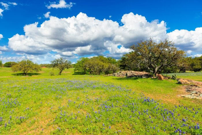 Heuvels in Texas Hill Country